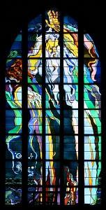 Kraków_-_Church_of_St._Francis_-_Stained_glass_01-152x300